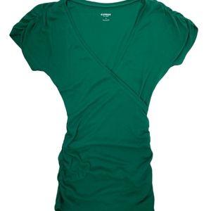 Express Green Shirt